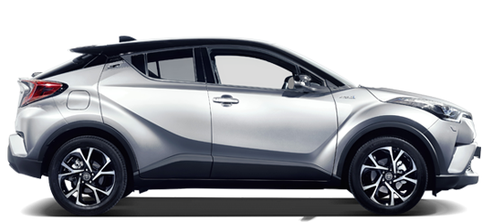 "<p style=""color:#FFFFFF"";>The Toyota C-HR Experience</p>"